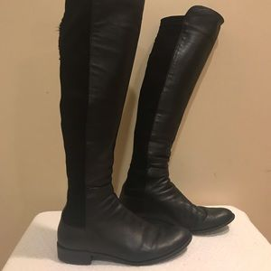 Stuart Weitzman 50/50 Knee High Boots Sz 9